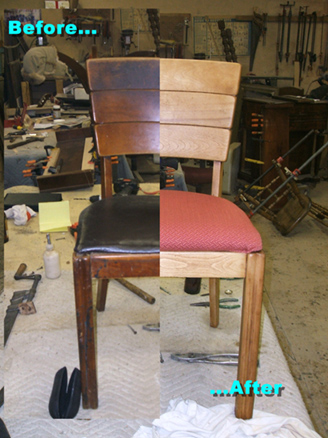 Ordinaire Refurbished Old Chair With A Total Refinishing Solution. This Chair Was  Stripped To The Bare